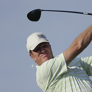 Steve Elkington during the second round of the 2013 U.S. Senior Open at Omaha (Neb.) CC.