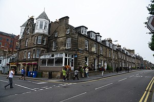 The famous Dunvegan Hotel and Restaurant just up the street from the Old Course at St. Andrews.