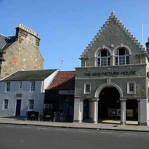 The only movie theater in St. Andrews.  It's just up the street from the Old Course.  Not like you come to the Home of Golf for the movies, but the students likely catch a movie during the semester.