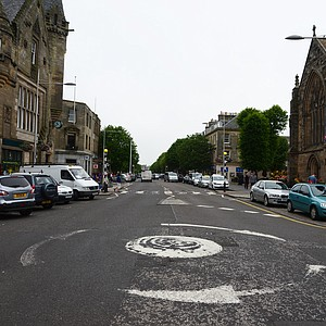 The town center of St. Andrews.
