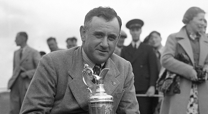 Reg Whitcombe etched himself into British Open history with his 1938 championship.