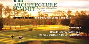 GW Architecture Summit 2013: The Legacy of Donald Ross at Pinehurst