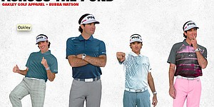 Bubba Watson's apparel for Open Championship