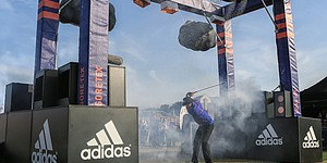 Johnson, Laird test adidas Golf GORE-TEX rain suit