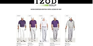 Webb Simpson's apparel for Open Championship