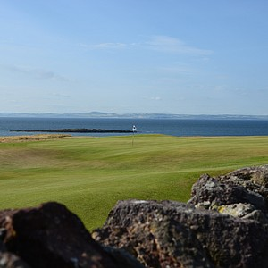 A view from the other side of the rocks on the par-3 ninth hole at Renaissance Club.