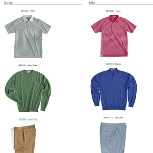 Bill Haas' scripted apparel at the 2013 Open Championship.