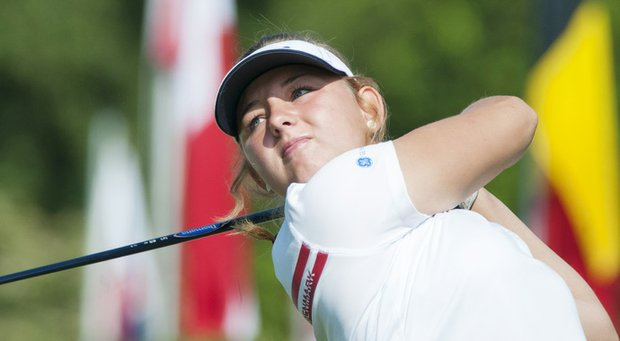 Emily Pedersen will represent Europe next month at the Junior Solheim Cup.