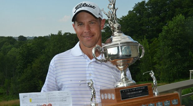 Brian Hadley shot 59 in the first round of the PGA of Ontario Championship