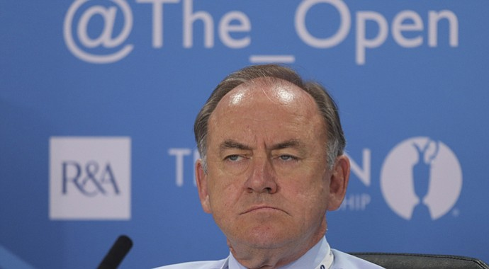R&A Chief Executive Peter Dawson fields questions on the eve of the 2013 British Open.