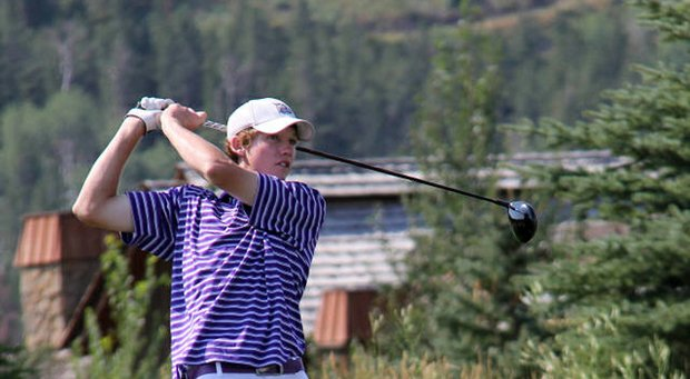 Ty Travis during his win in the 2013 Idaho State Amateur golf tournament.