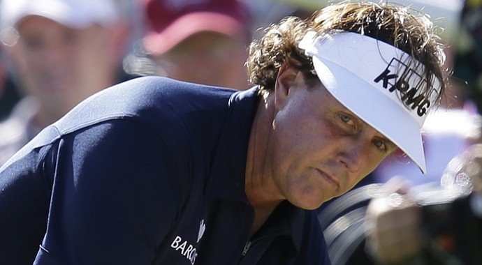 Phil Mickelson during the 2013 Greenbrier Classic.