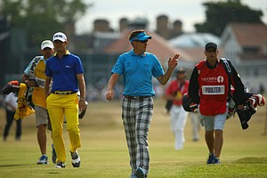 Billy Horschel (left) and Ian Poulter