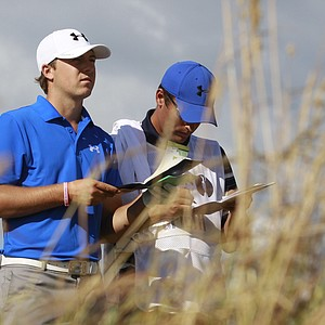 Jordan Spieth during the first round of the 2013 Open Championship at Muirfield.