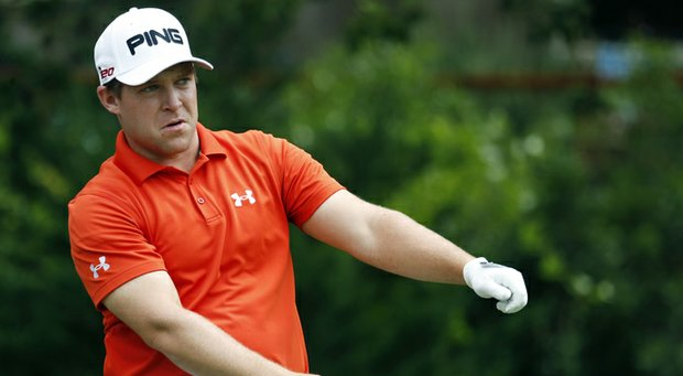 Daniel Summerhays has the clubhouse lead at the PGA Tour's Sanderson Farms Championship.