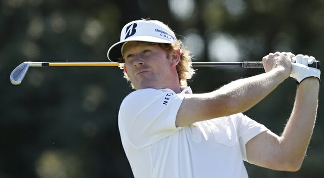 Brandt Snedeker during the second round of the 2013 British Open at Muirfield.