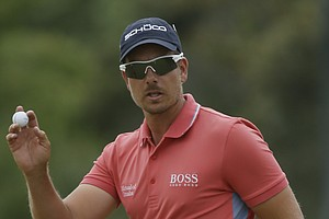 Henrik Stenson during Sunday's final round at the 2013 British Open at Muirfield.