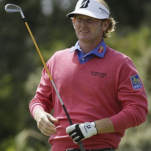 Brandt Snedeker during Sunday's final round at the 2013 British Open at Muirfield.