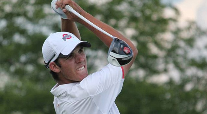 Tee-k Kelly during his win in the 2013 Illinois State Amateur.