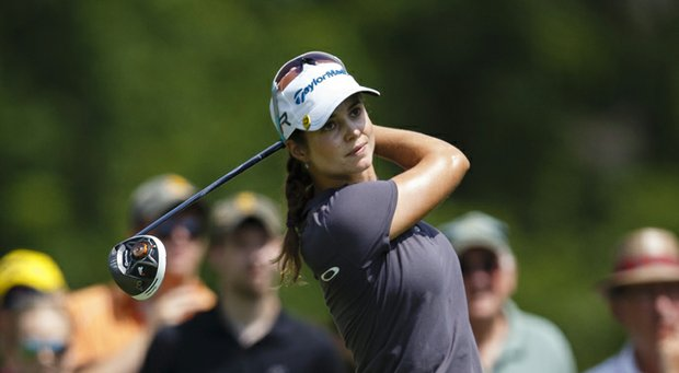Beatriz Recari during the final round of her win at the LPGA's 2013 Marathon Classic.