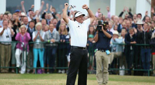 PHOTOS: Phil Mickelson, 2013 British Open final round