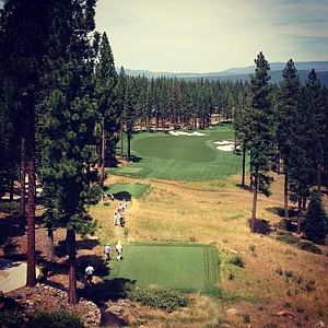 Hole No. 10 during the 66th U. S. Junior Amateur Championship at Martis Camp Club.