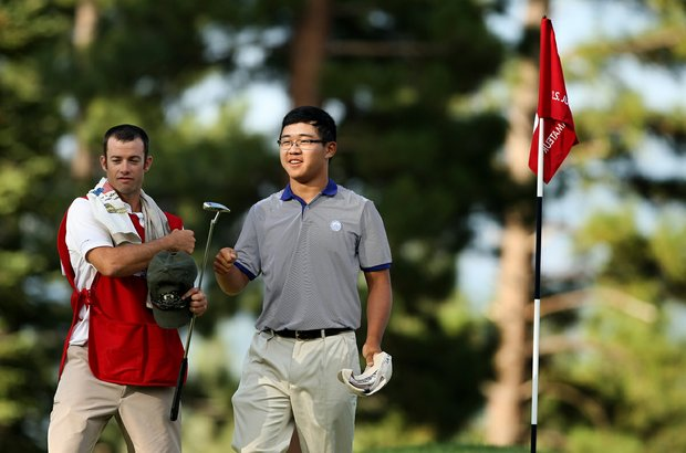 Jim Liu is the stroke play medalist at the 66th U. S. Junior Amateur Championship at Martis Camp Club.