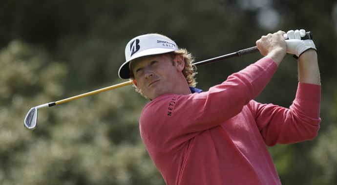 Brandt Snedeker during the 2013 British Open at Muirfield.