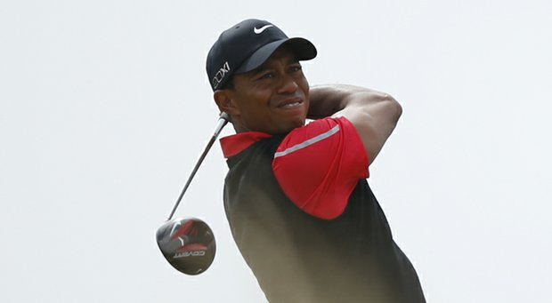 Tiger Woods during the 2013 British Open at Muirfield.
