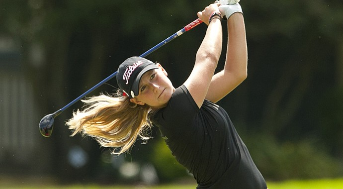 Bailey Tardy during the 2013 U.S. Girls Junior.
