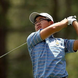 Jim Liu during the Round of 64 at the 66th U. S. Junior Amateur Championship at Martis Camp Club.