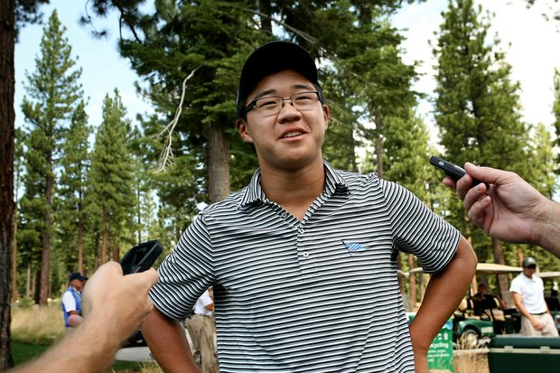 Stroke-play medalist Jim Liu reflects on the end of his junior career after losing to John Augenstein during the Round of 32 at the 66th U. S. Junior Amateur Championship.