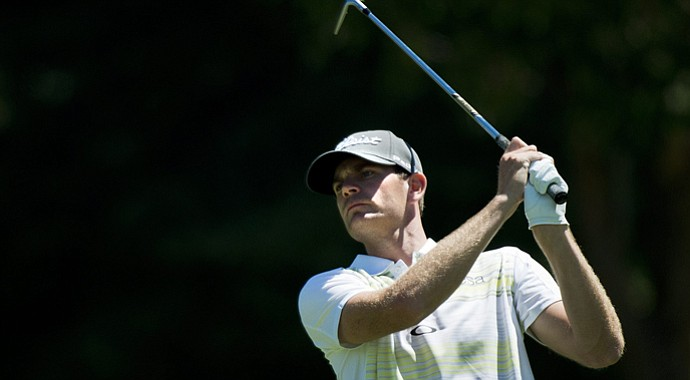 Brendan Steele during the first round of the 2013 Canadian Open.