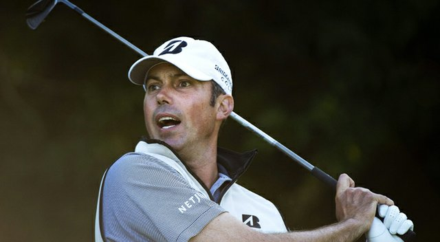 Matt Kuchar during the first round of the PGA Tour's 2013 RBC Canadian Open.