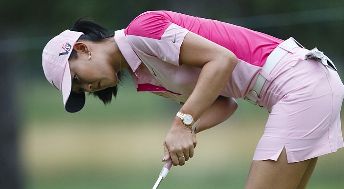 Michelle Wie during the LPGA's 2013 Marathon Classic.