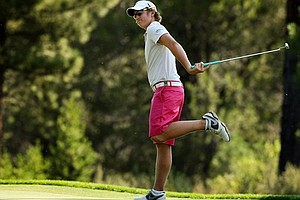 Sam Horsfield during the 2013 U.S. Junior Amateur.