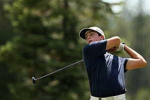 Davis Riley defeated John Augenstein 4 and 3 in the semifinals at the 66th U. S. Junior Amateur Championship.