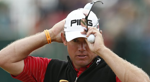 Lee Westwood during the 2013 Open Championship.