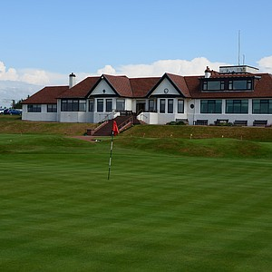 Another look at the Western Gailes clubhouse.