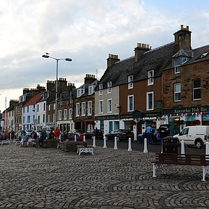 The town of Anstruther, Scotland.