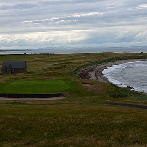 The 13th hole at Crail.