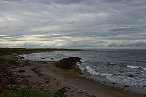 The view from the 13th hole at Crail.