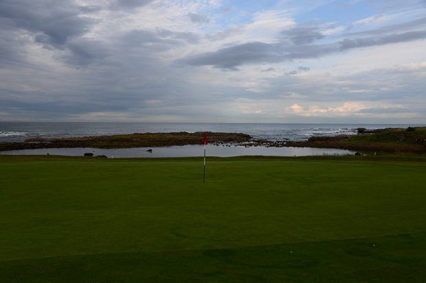 The 14th hole at Crail.