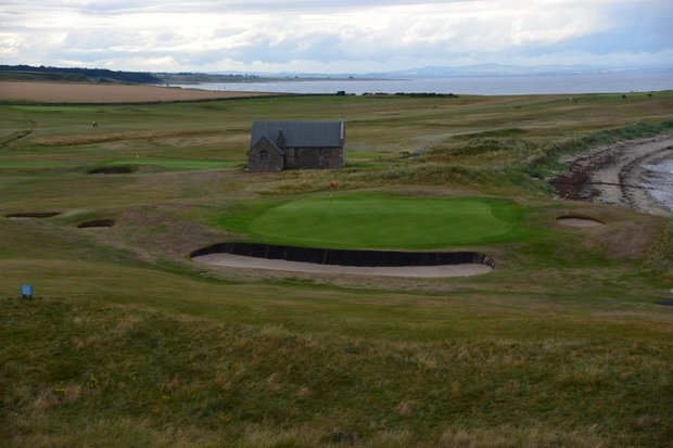 The 13th hole at Crail is named Cave, after the one that exists beneath its tee.