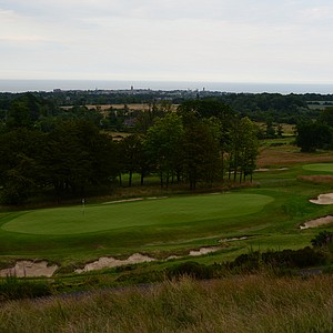 The 18th hole at Dukes.