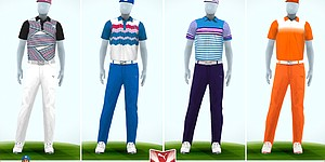 Rickie Fowler's apparel for 2013 PGA Championship