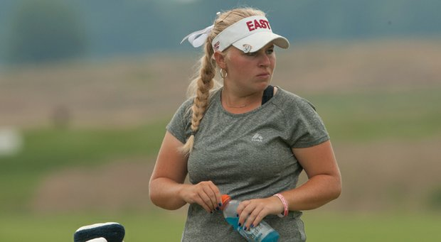 Samantha Wagner was one of the six girls to play on the United State Junior Ryder Cup team in 2012.