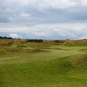 The first hole on the Castle course, Ford, looks like it has been there 100 years, but is really less than 10 years old.