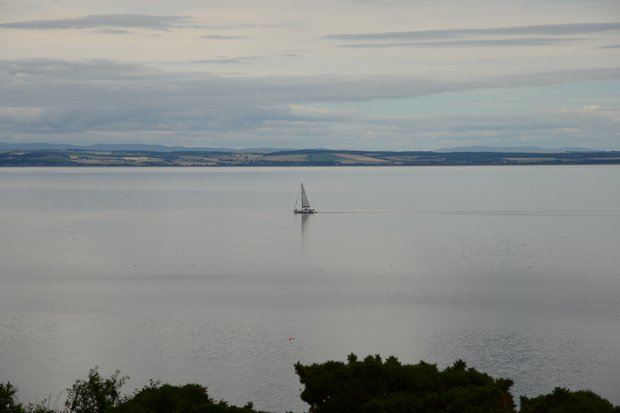 To give you an idea of how idyllic the Firth can be at times, this is a very unfamiliar site.