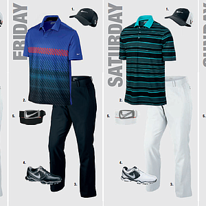 Kyle Stanley's scripted apparel for the 2013 PGA Championship.